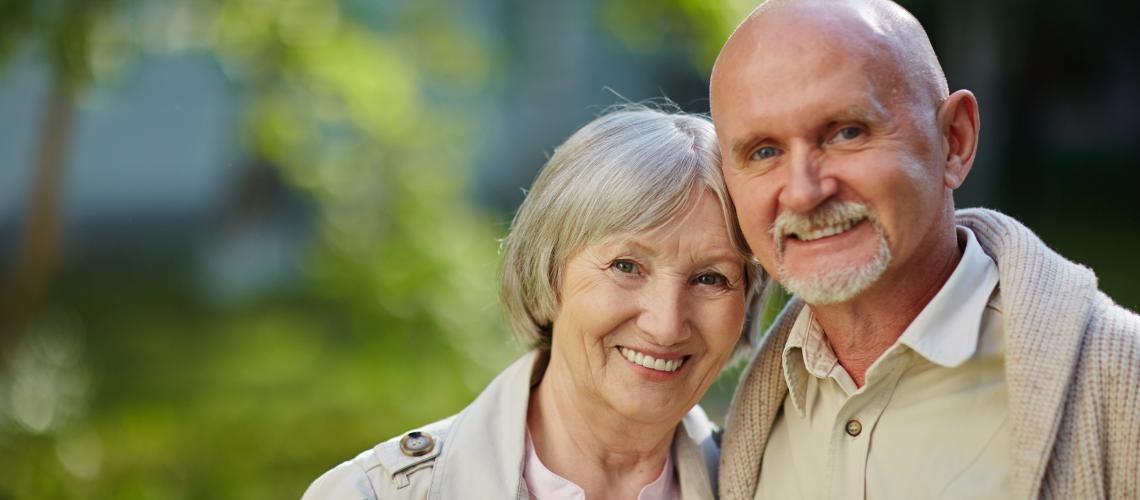 Senioren, Frau und Mann